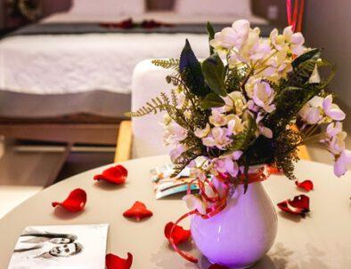 Suite pacote romântico